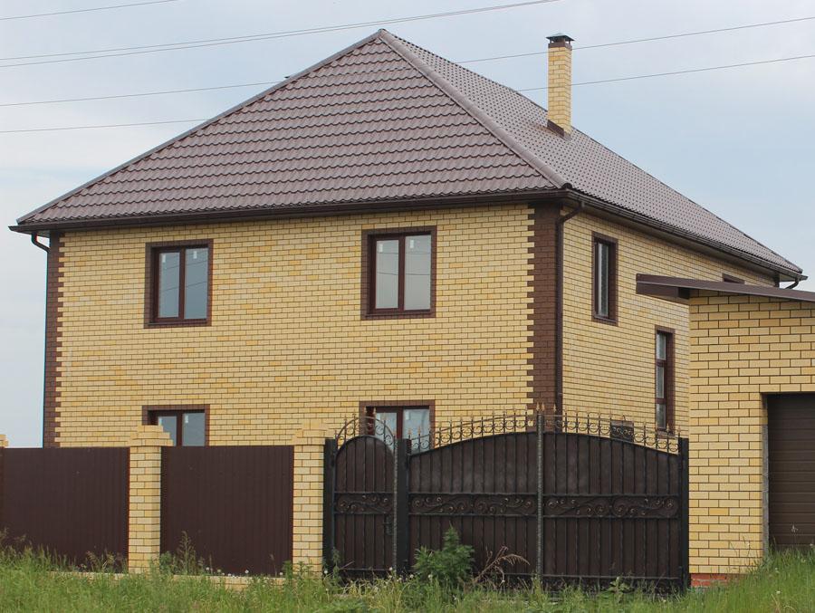 Дома из блоков